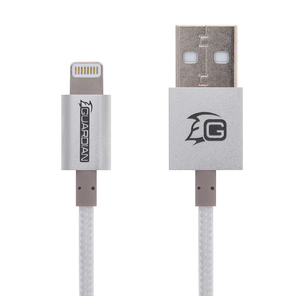 Guardian Lightning to USB Cable 2M (Premium Braided Series)