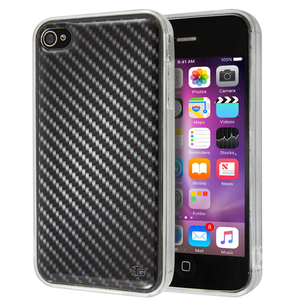 Θήκη Guardian Black Carbon για iPhone 4/4s