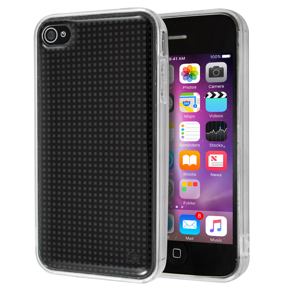 Θήκη Guardian Black Grid για iPhone 4/4s