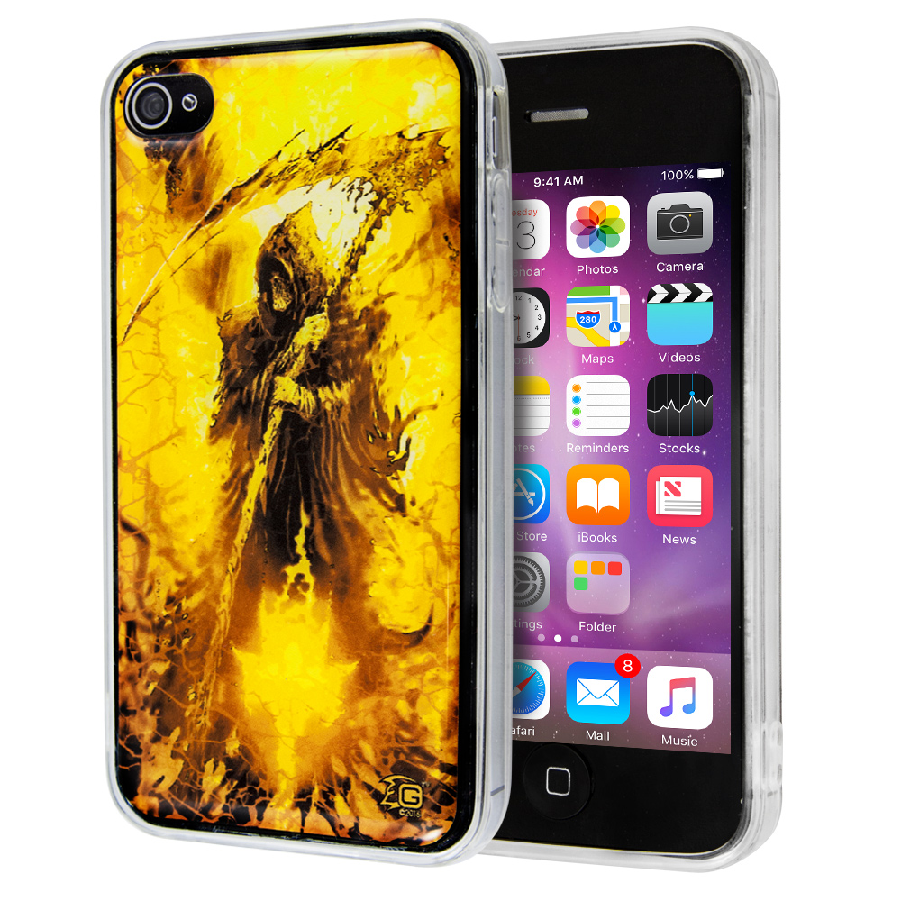 Θήκη Guardian Reaper Yellow για iPhone 4/4s