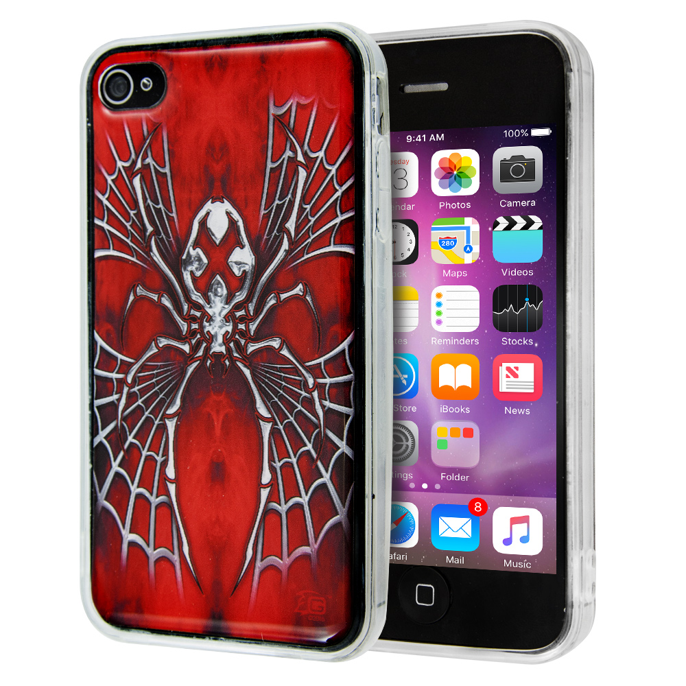 Θήκη Guardian Spider X Red για iPhone 4/4s