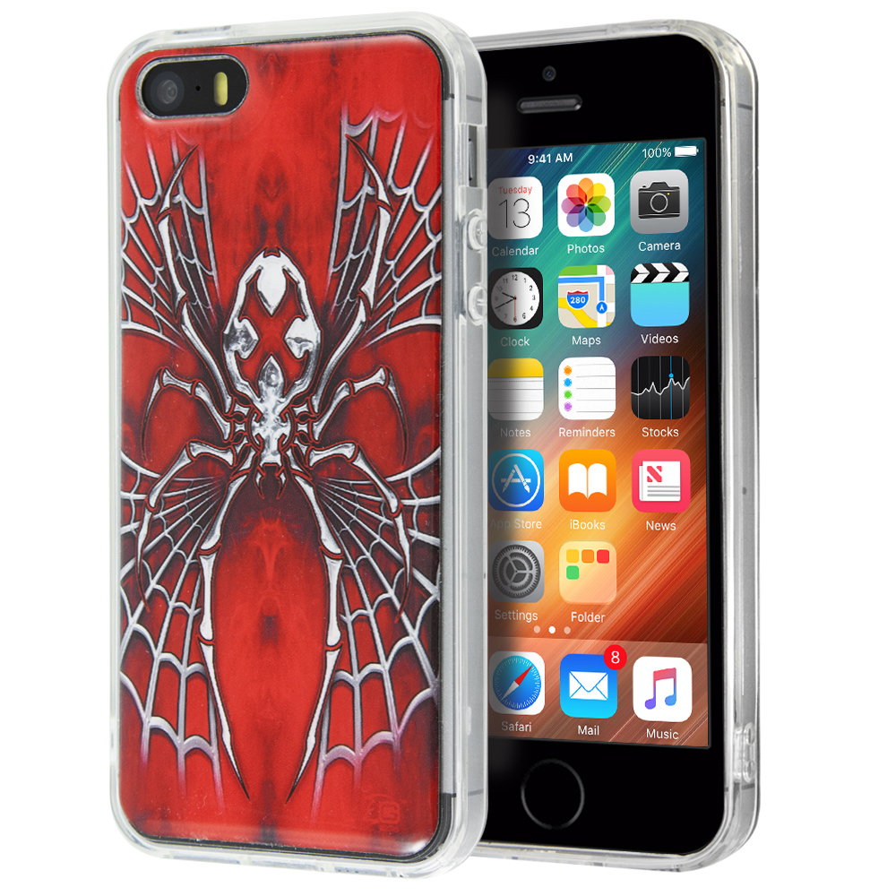 Θήκη Guardian Spider X Red για iPhone 5/5s
