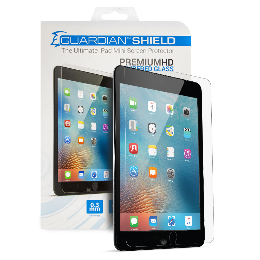 Guardian Shield Premium HD Tempered Glass for iPad mini 1/2/3