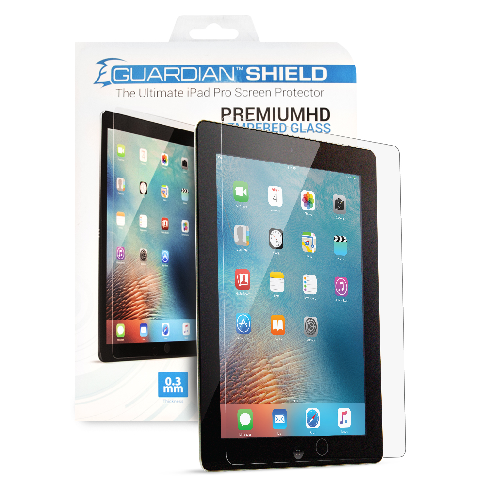Guardian Shield Premium HD Tempered Glass for iPad Pro