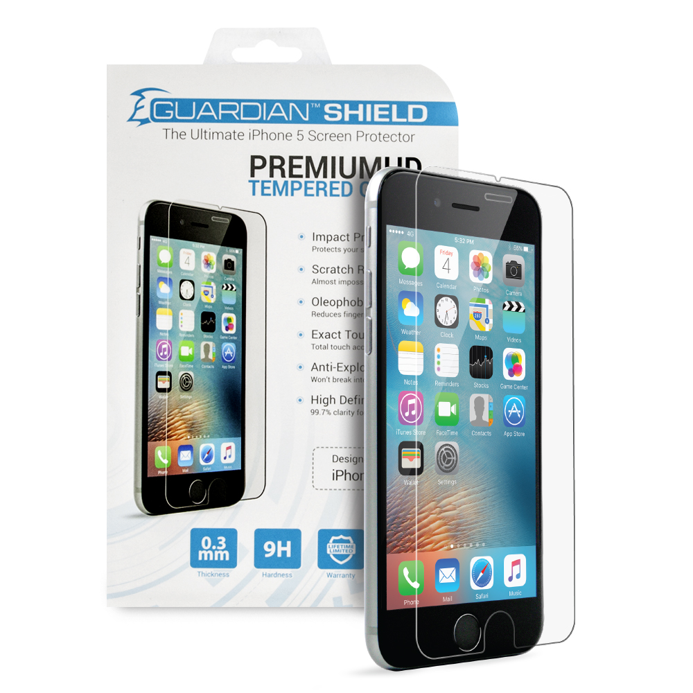 Guardian Shield Premium  HD Tempered Glass for iPhone 7/8