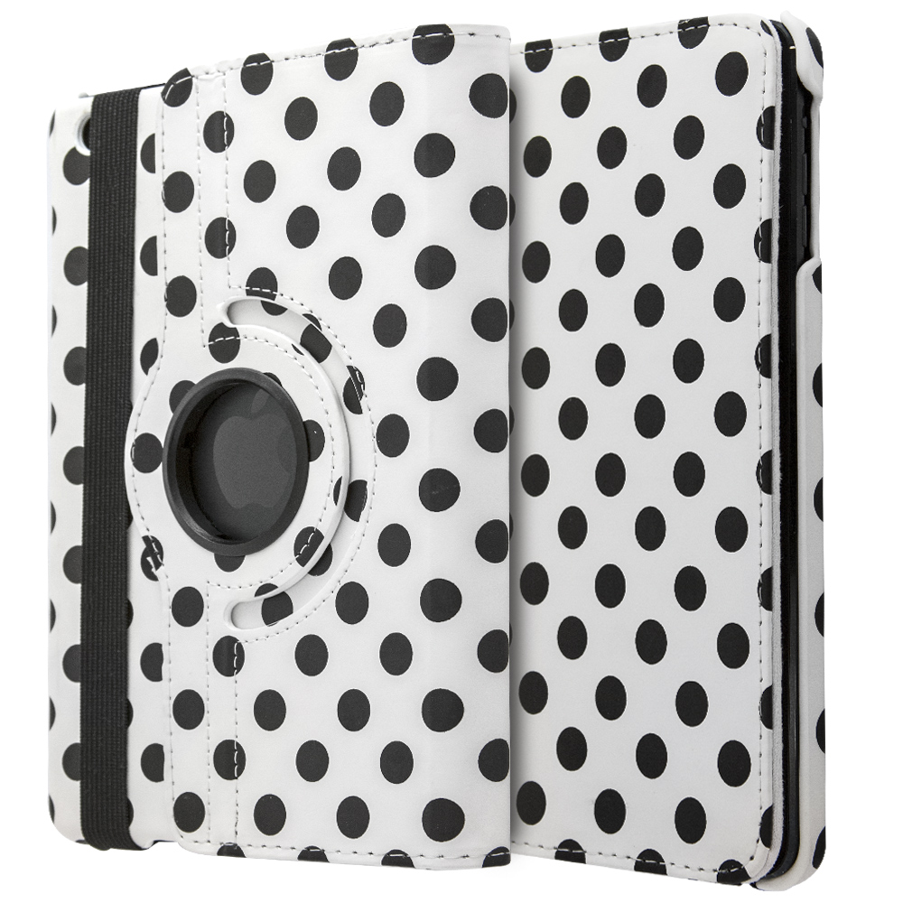 iCase 360° Polka Dots for iPad mini 1-2-3
