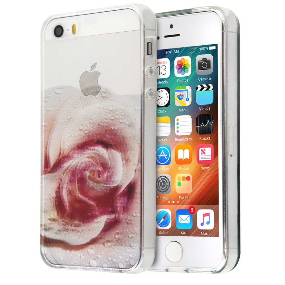 Θήκη Annita's Island Blooming Rose για iPhone 5/5s (Ροζ)