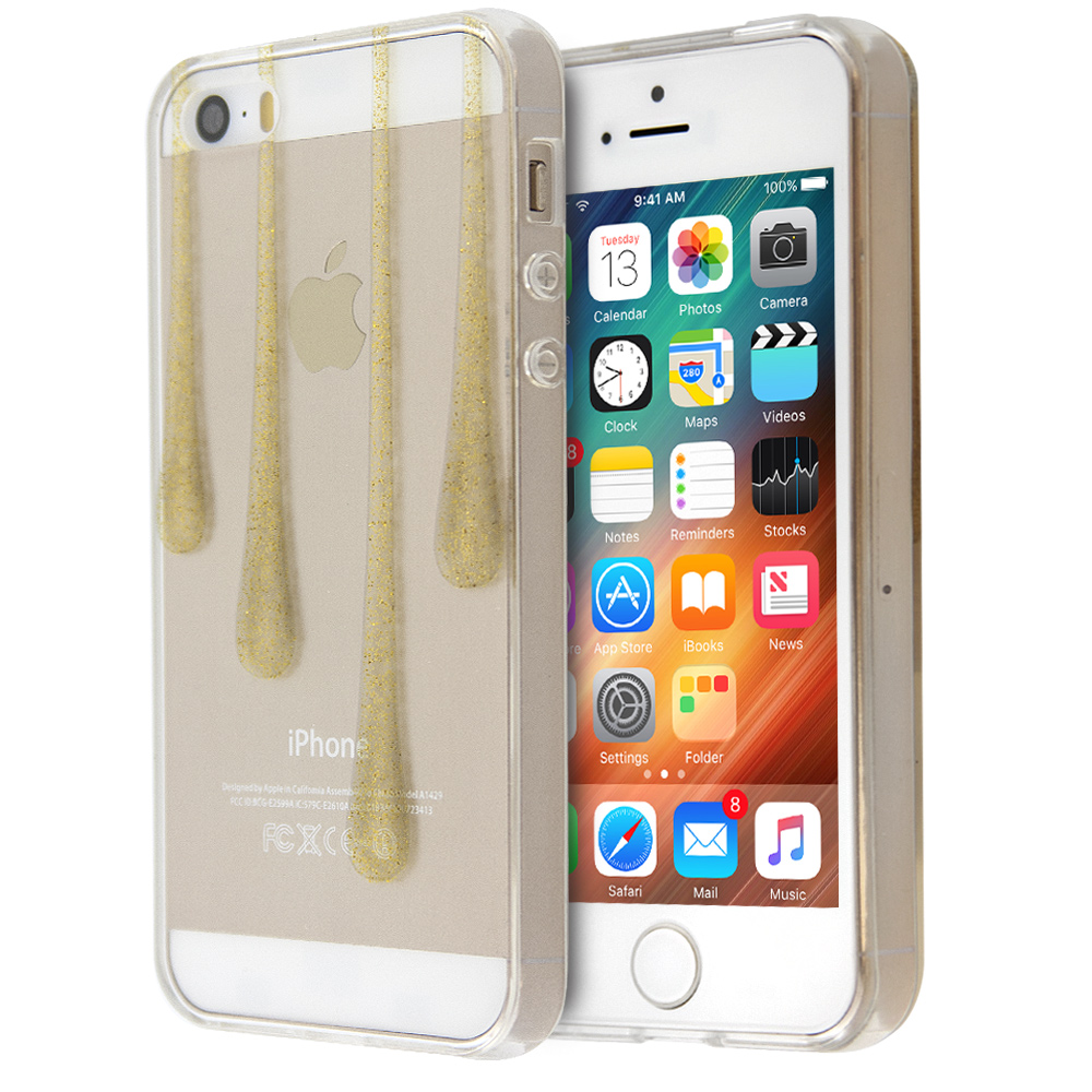 Annita's Island Golden Drops Case For iPhone 5/5s