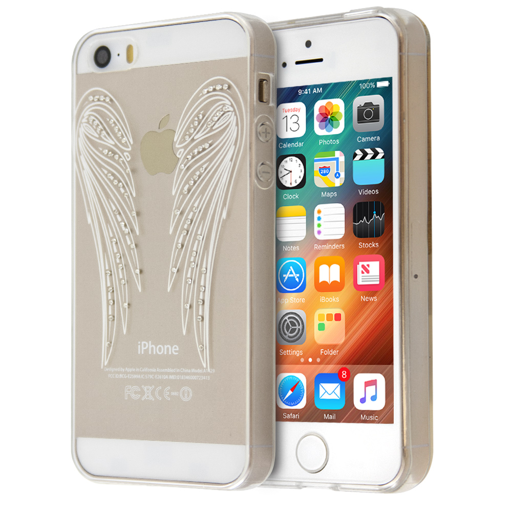 Θήκη Annita's Island Angel Wings για iPhone 5/5s (Διάφανο)