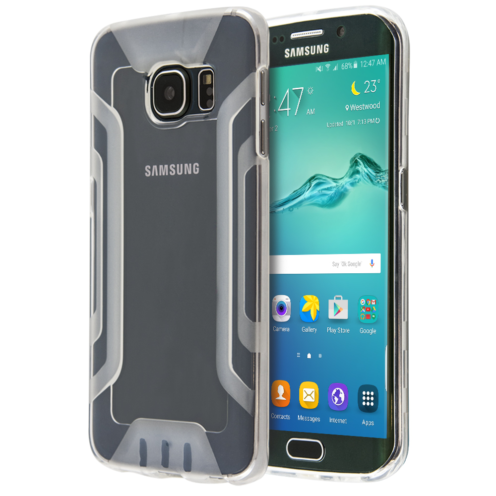 Sublime Double Silicon Protection Case For Galaxy S6 Edge