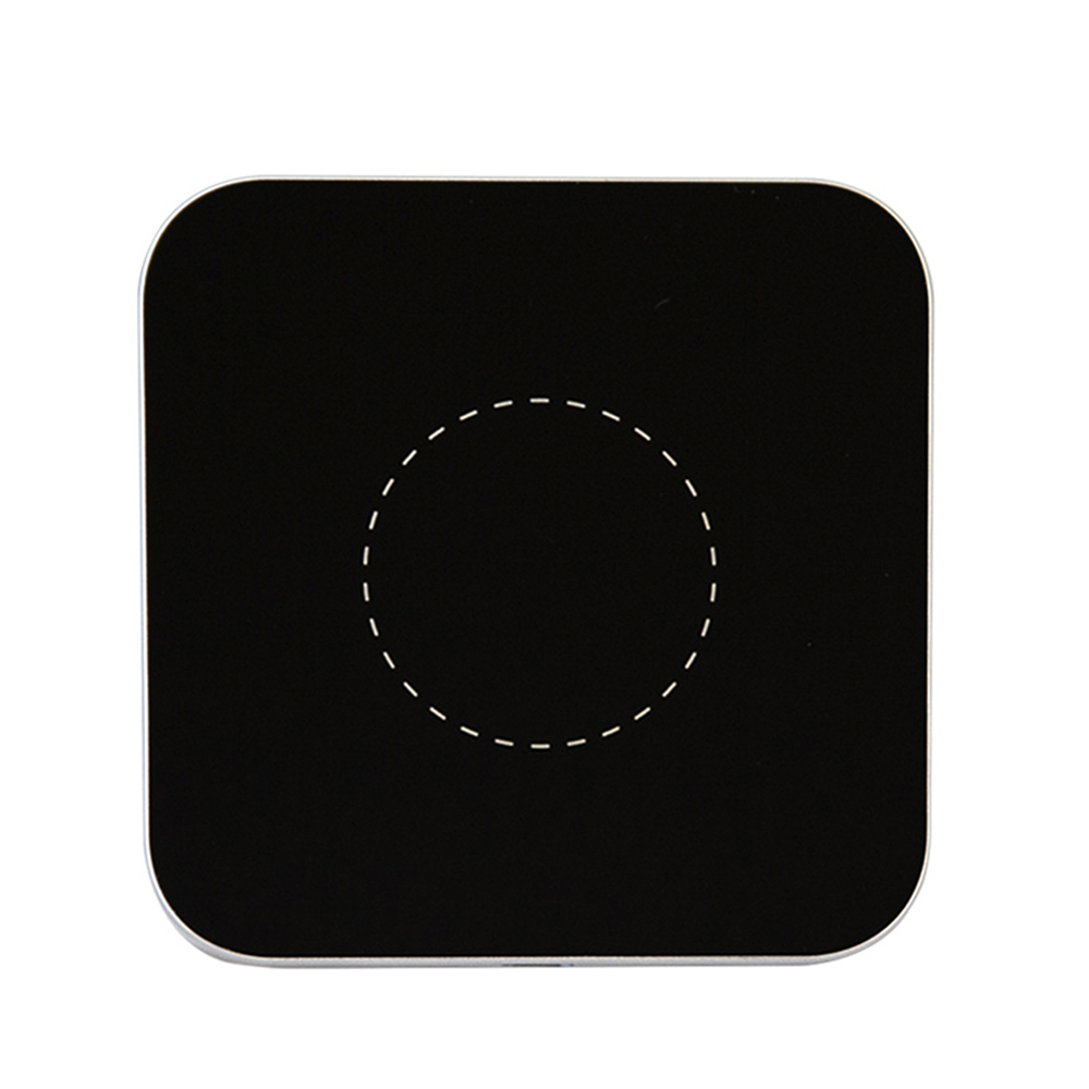 Mini Aluminium Qi Wireless Charging Pad