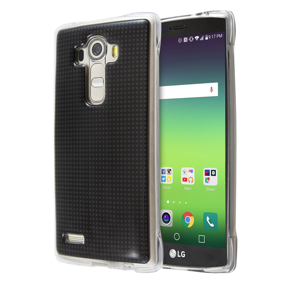 Θήκη Guardian Black Grid για LG G4