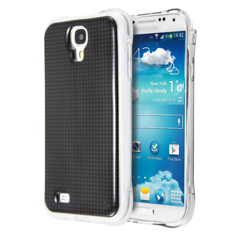 Guardian Black Grid Case for Samsung Galaxy S4
