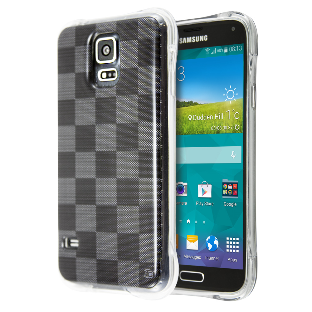 Θήκη Guardian Checkerboard για Samsung Galaxy S5 (Black)
