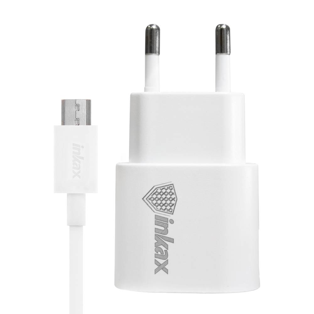 inkax USB Travel Charger & Micro USB Data Cable (1M)