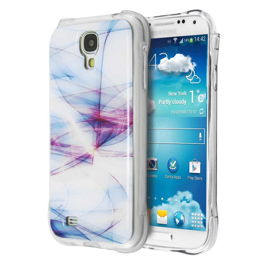 Guardian White Nebula Case for Samsung Galaxy S4