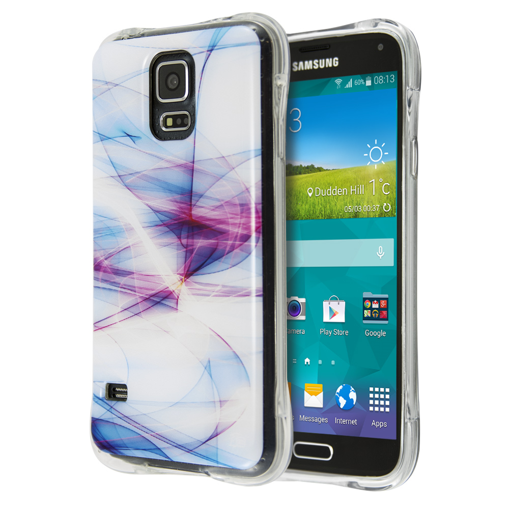 Guardian White Nebula Case for Samsung Galaxy S5