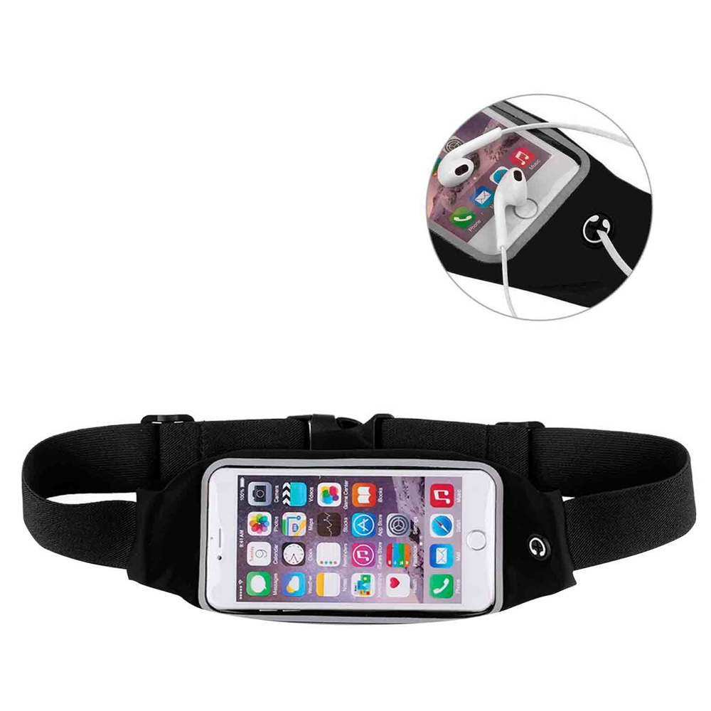 Water Resistant Sport Running Waist Bag ( for 4.7-5.2' smartphones)