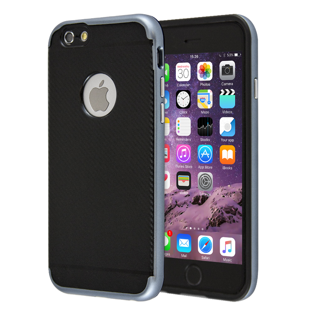 Guardian Carbon Bumper Case For iPhone 6/6s