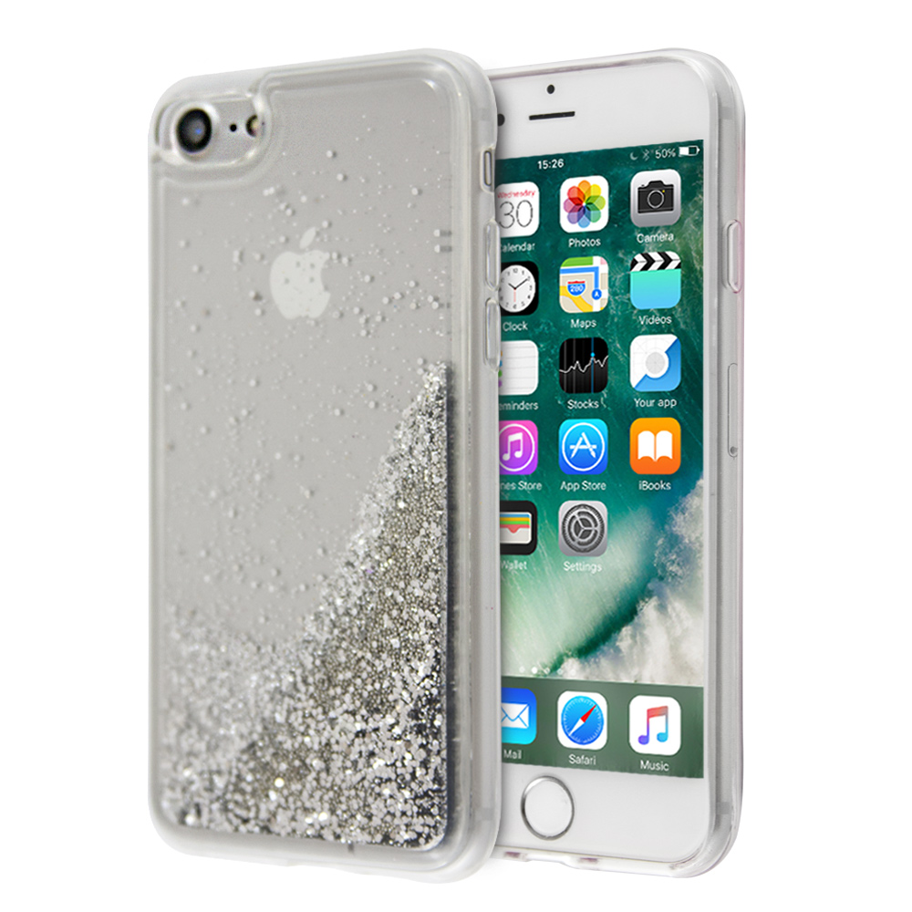 iCase Liquid Glitter Balls For iPhone 7/8