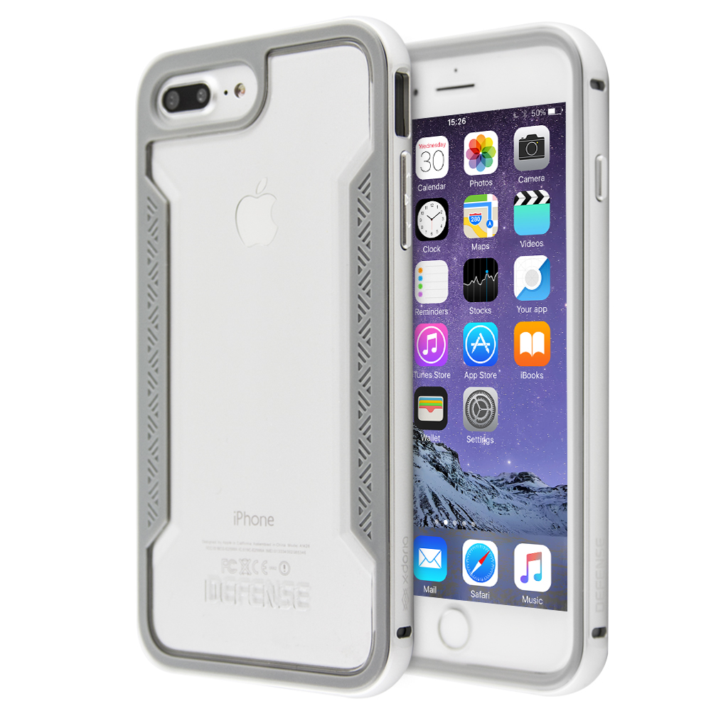 Θήκη x-doria Defense Shield για iPhone 7 Plus / 8 Plus (Διάφανο)