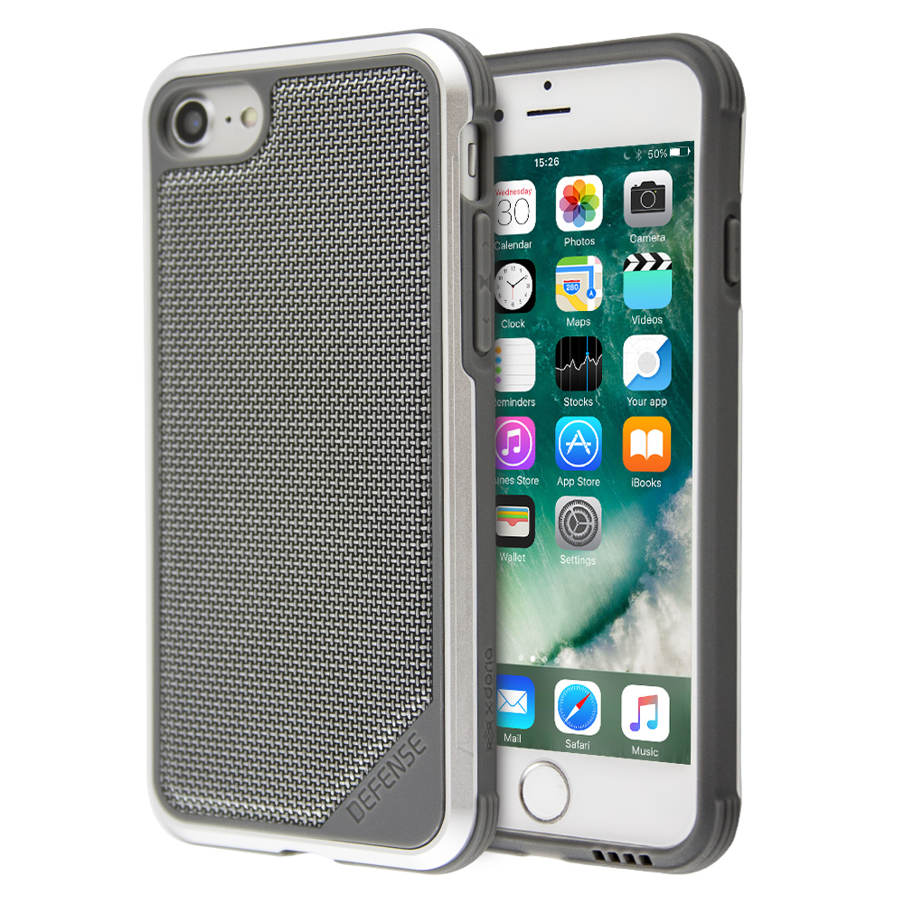 X-Doria Defense Lux Ballistic Nylon Protective Case Shock-Proof For iPhone 7/8