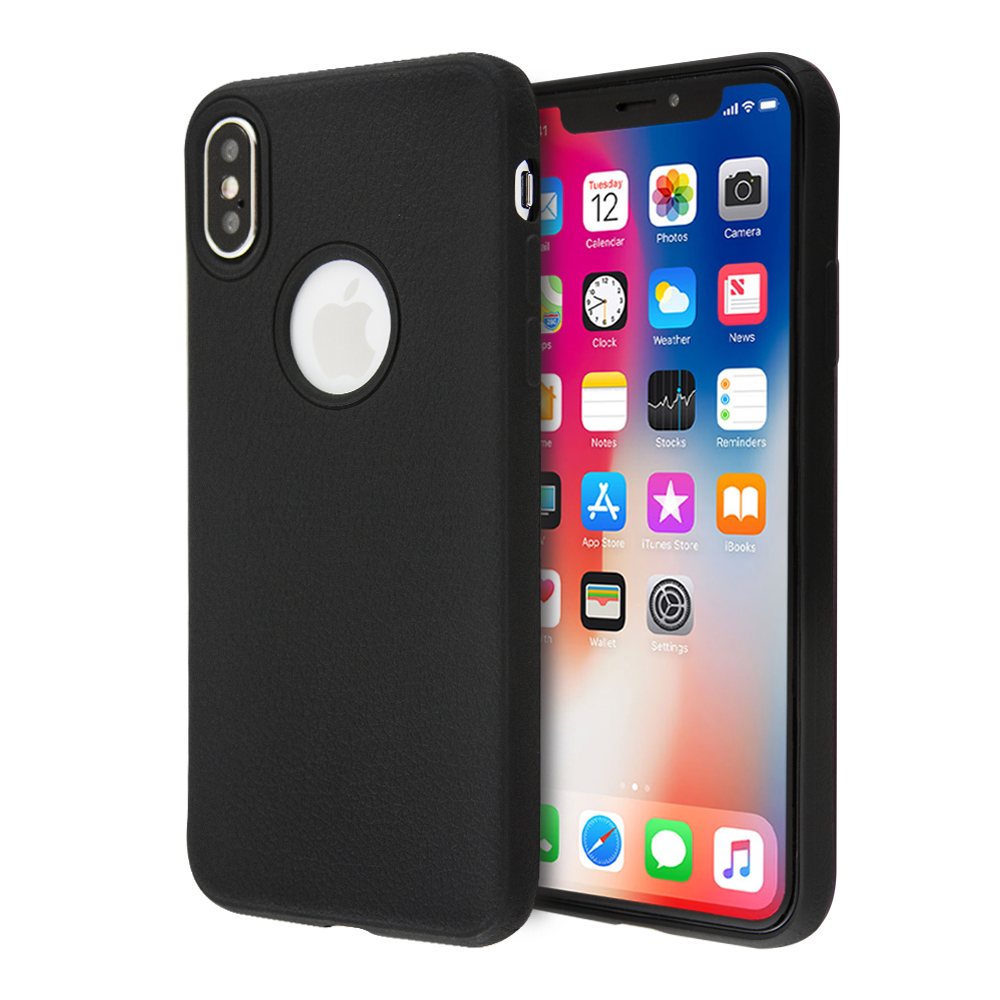 Guardian Leather Feel TPU Case For iPhone X / XS