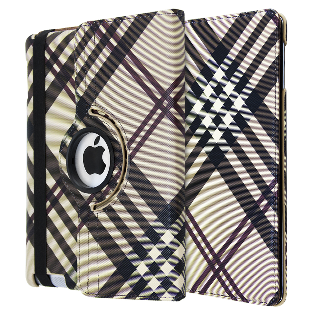 iCase 360° Tartan Pattern for iPad 2-3-4