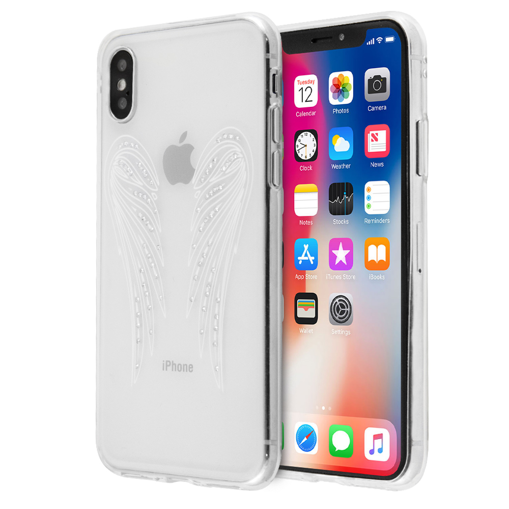 Annita's Island Angel Wings Case For iPhone X / XS