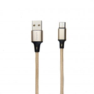 FoneFX Braided Metal Series Type-C to USB 2.0 Cable (1M)