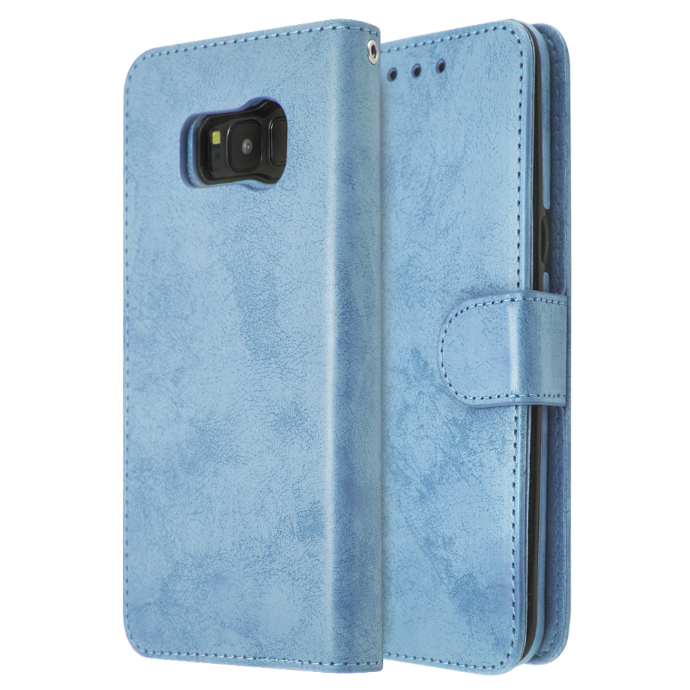 iCase Magnet Cloud Leather Book For Galaxy S8+