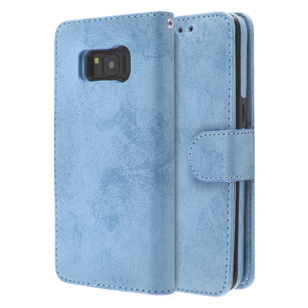 iCase Magnet Cloud Leather Book For Galaxy S8
