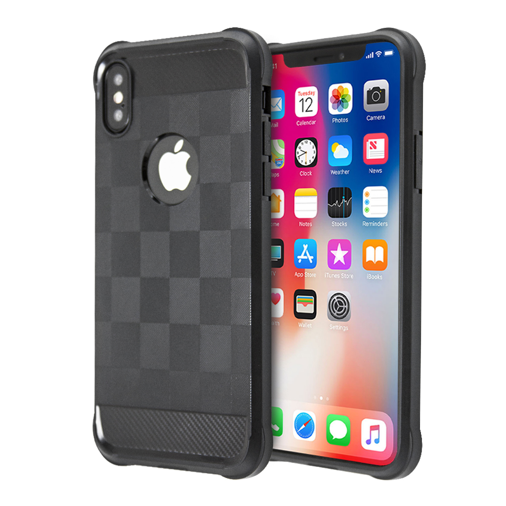 Guardian Checker Case For iPhone X / XS
