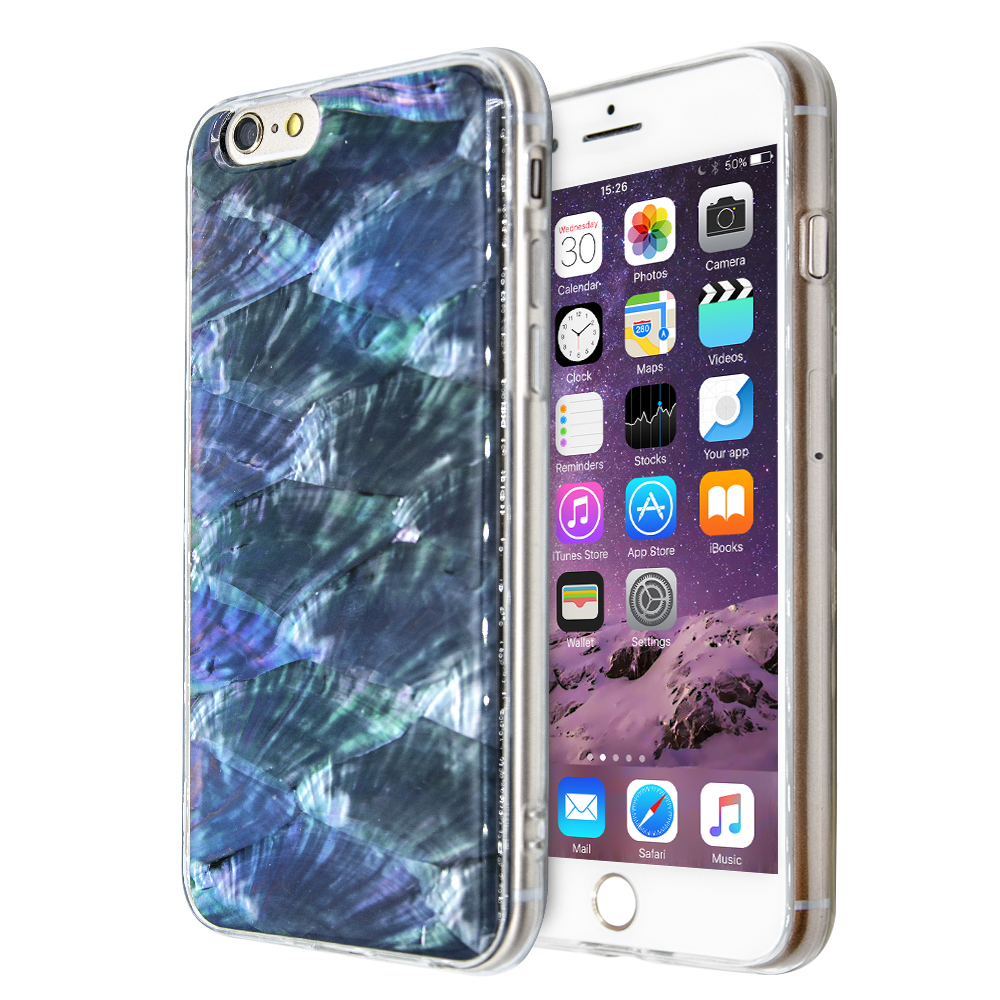 Θήκη Annita's Island Mother of Pearl για iPhone 6/6s (Mπλε)