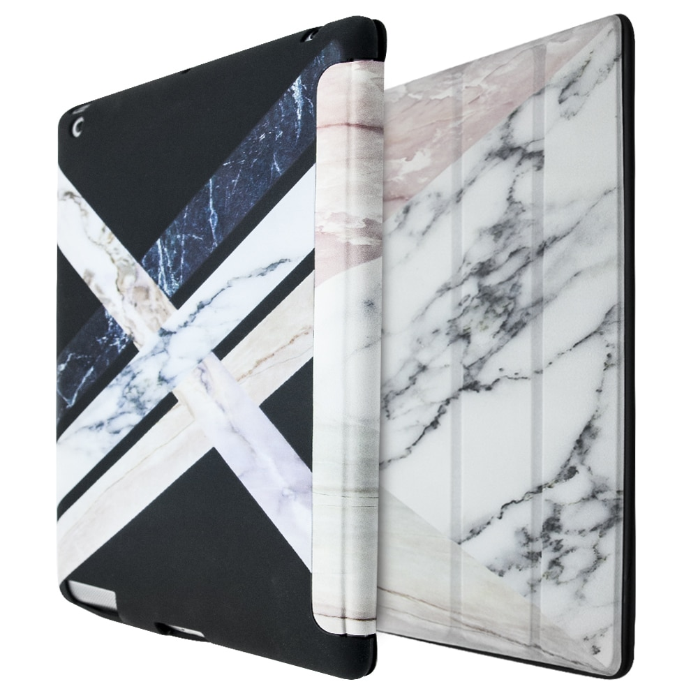 iCase Marble Smart Case For iPad 2-3-4