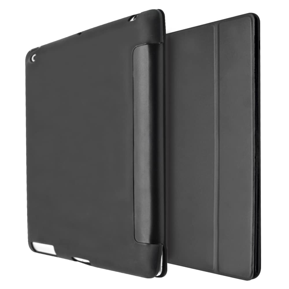 iCase Rubber Smart Case For iPad 2-3-4