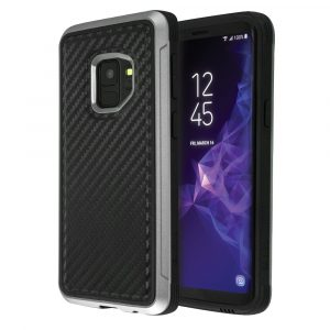 X-Doria Defense Lux Series (Black Carbon) For Galaxy S9