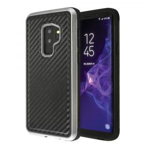 Θήκη x-doria Defense Lux Black Carbon για Galaxy S9 Plus