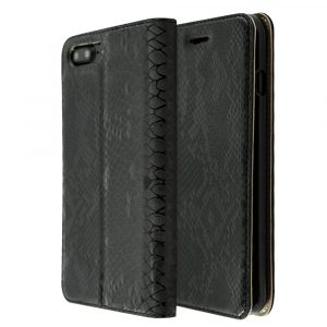iCase PU Leather Snake skin Book For iPhone 7 Plus / 8 Plus