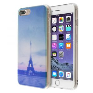 Merge Glitter Translucence Case Paris For iPhone 7 Plus/8 Plus