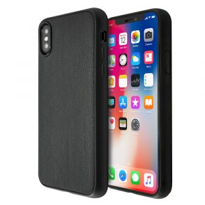 Guardian Black Leather Case For iPhone X/XS