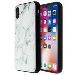 Merge Marble Glass Case For iPhone X/XS