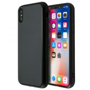 Merge Silicone Mirror Glass Case For iPhone X/XS