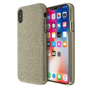 Annitas Shiny Fabric Case For iPhone X/XS