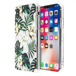 Merge Flowers Silicone Case For iPhone X/XS