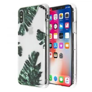 Merge Leaf Silicone Case For iPhone  X/XS