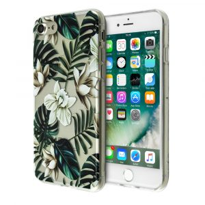 Merge Flowers Silicone Case For iPhone 7/8