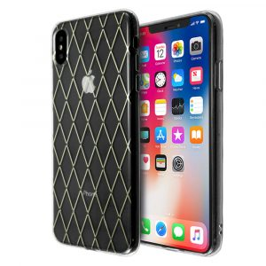 Merge Diamond Pattern Case For iPhone XS Max